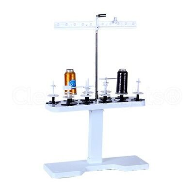 10 Spool Thread Stand - For All Home Embroidery Machines - Cone Rack SA503 Style