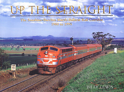 Up the Straight - Sunshine - Bacchus Marsh - Ballarat corridor 1980 - 1995