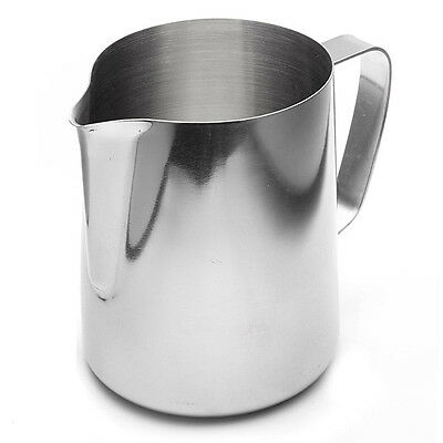 1000ml Coffee Cappuccino Hot Chocolate Milk Tea Frothing Jug Garland Latte Cup