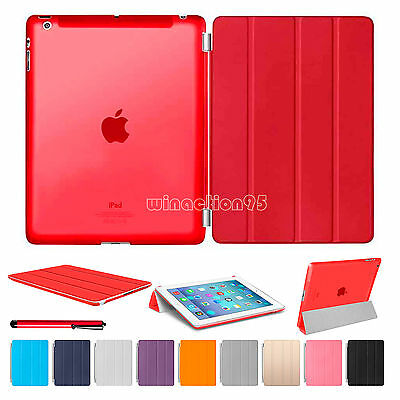 Ultra Slim Smart Magnetic Stand Leather Case Cover For APPLE iPad Air 4 3 2 Mini