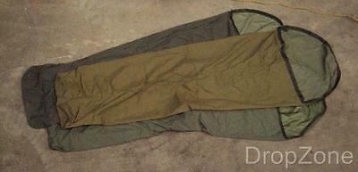 Genuine British Military Army Sleeping Bag Cover / Bivi, Olive / Green