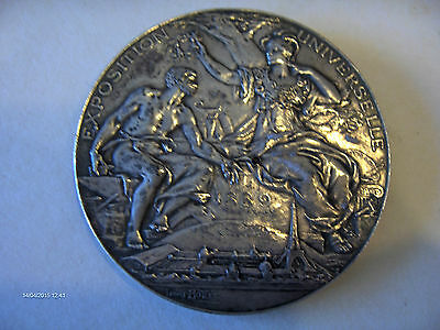 Medaille Medal Exposition Universelle Paris 1889