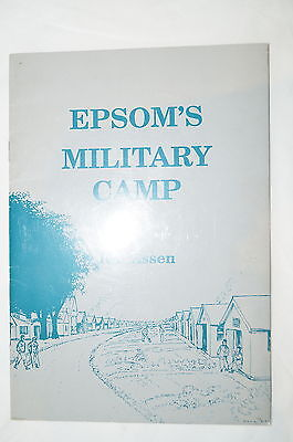 WW1 British Epsoms Military Camp Reference Book