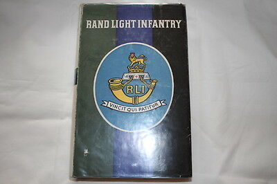 South African Rand Light Infantry RLI Unit History Reference Book