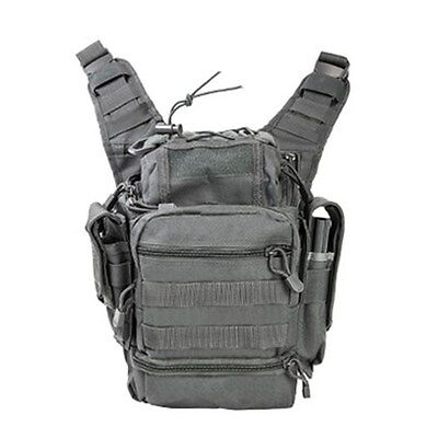 NcSTAR Tactical First Responders Utility Bag w/ Rear Concealed Pocket Urban Gray