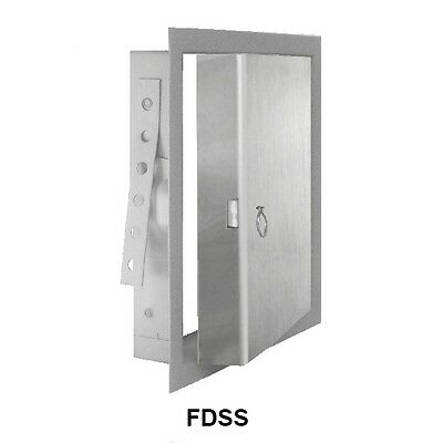 JL Industries Stainless Steel FD Insulated Fire Rated Access Door - 12 x 12