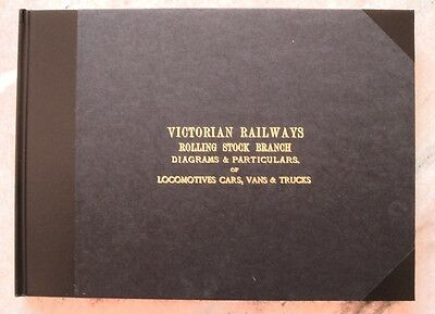 Victorian Railways - Rolling Stock Branch - Diagrams of Locomotives Cars  &c
