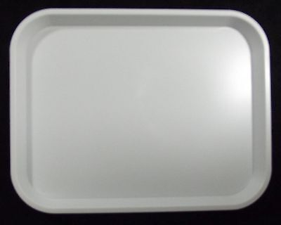 Kabi Plastic White Catering Tray KB2