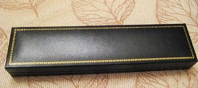 Black Faux Leather Bracelet Display Gift Box, Jewelry Display Case, 11 Pieces