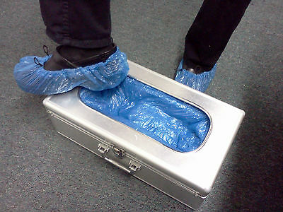 New Wholesale Dispenser, Blue Disposable Shoe / Boot Medical-Grade Cover System
