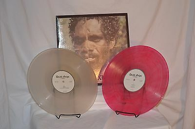 """NEW Death Grips Exmilitary 2x12"""" LP Limited Edition Clear & Red Vinyl Import"""