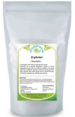 Erythritol Sweetener 1kg KETO diet with Himalayan Salt Gift!