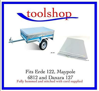 Erde 122 trailer cover also Maypole 6812 and Daxara 127 Heavy Duty robust