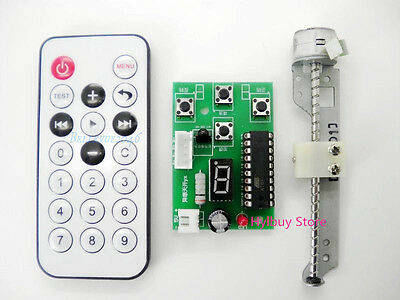 Remote + Stepper Motor Driver Control + 5v 2-phase Stepper Motor linear Actuator