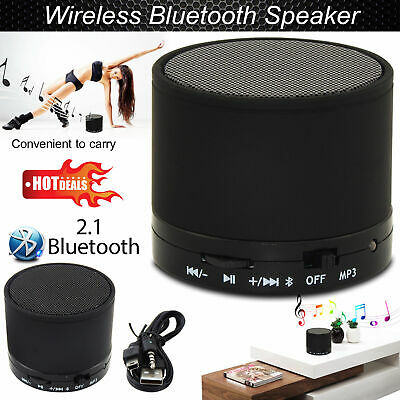 Wireless Portable Mini Bluetooth Speaker For Mp3 Mobile Phone Tablet UK