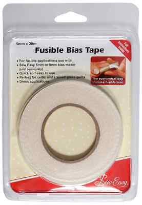 Sew Easy Fusible Bias Tape 20m x 5mm
