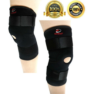 Robust Neoprene Patella Stabilising Knee Support Brace Arthritis Tendinitis Pain