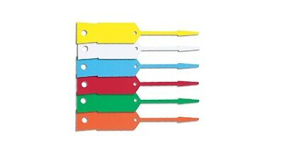 Arrow Disposable Vinyl Keytags -1000 tags per packet- FREE MARKER PEN & POSTAGE!
