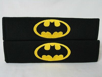 NEW Marvel Comics Superhero Batman Seat Belt Soft Pads