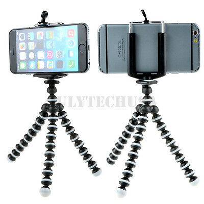 Generic Mini Octopus Flexible Tripod Stand Mount Holder for GALAXY S2  cellphone