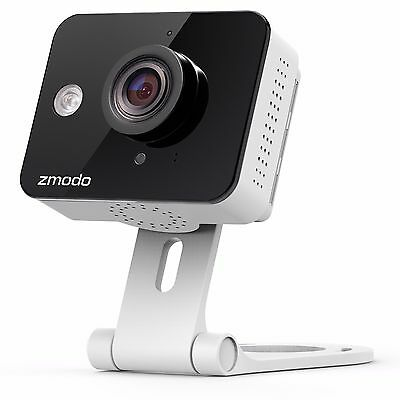 Zmodo WiFi Mini 720p HD IP Home Security Camera 2-Way Audio Connects Wirelessly!