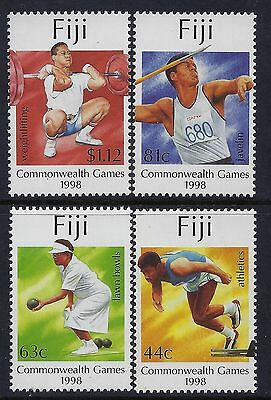 1998 Fiji Commonwealth Games Set Of 4 Fine Mint Mnh/muh