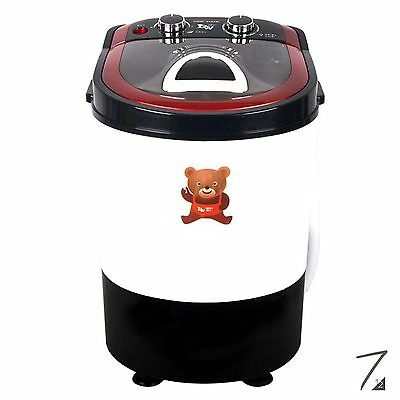 DAEWOONG POWER MOM UQW-3800M Mini Washing Machine Portable Washer Spin Dryer 3Kg