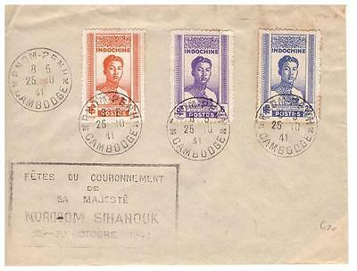 shop1640 Vietnam Indo China cover postmarked but unaddressed