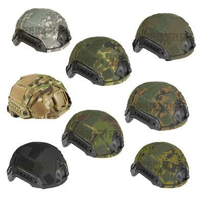Airsoft Military Style Fast Helmet Cover Invader Gear Various Camo