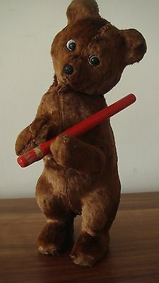 VINTAGE WIND-UP BEAR TOY - RUSSIA/USSR 1970s