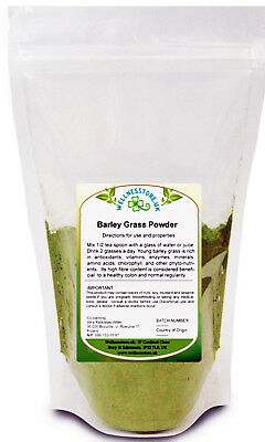 Young Barley Grass Powder 100g to 1kg | Weight Loss Superfood | Detox | Fibre |