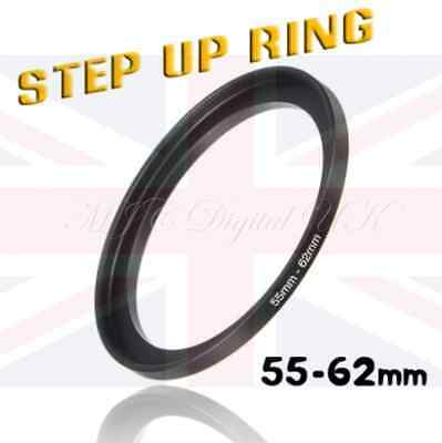 55 - 62 55 to 62 STEPPING STEP UP FILTER RING ADAPTER 55mm - 62mm 55 - 62mm Best