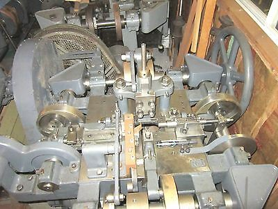 Four Slide Machine 4 Slide makes Wire or Flat Metal Shapes Pristine Condition!