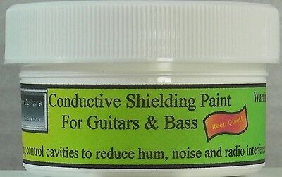 NEW! PRO-GRADE SHIELDING PAINT for GUITAR & BASS-FREE SHIPPING!