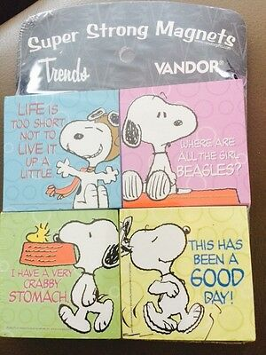 Peanuts Super Strong Magnets great pressie brand new