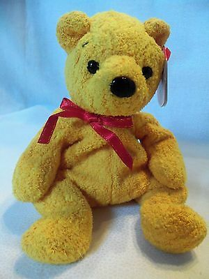 TY Beanie Babies Pooh Bear ** POOPSIE ** 9th Generation New w/ Tag