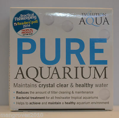 Evolution Aqua Pure Aquarium 50 Balls Crystal Clear Water Bacteria Filter