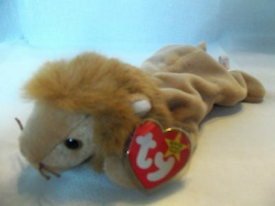 TY Beanie Babies Lion ** ROARY** 5th Generation New with Tag