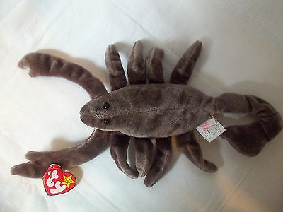 TY Beanie Babies Scorpion ** STINGER ** 5th Generation New w/ Tag