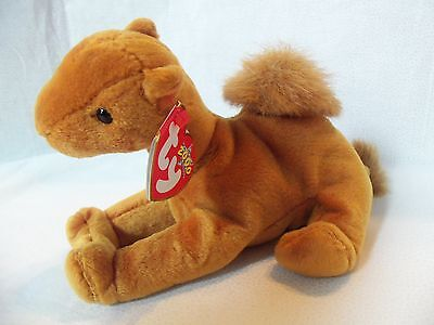 TY Beanie Babies Furry Hump Camel ** NILES ** 6th Generation New w/ Tag