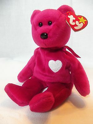 TY Beanie Babies Beautiful Fushia** VALENTINA ** 5th Generation New w/ Tag