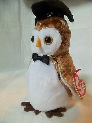 TY Beanie Babies Owl ** WISEST ** 5th Generation New w/ Tag