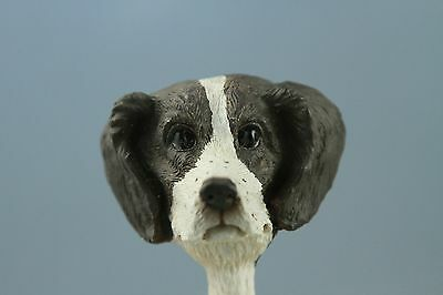 Brittany Liver &white Interchangeable  Head See All Breeds  Bodies @ Ebay Store)