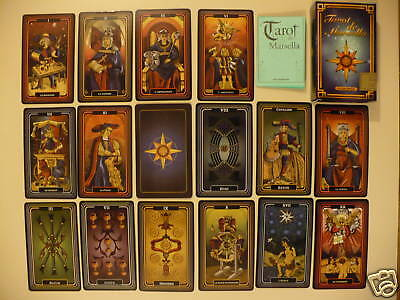 LIMITED  EDITION MARSELLA TAROT MARSEILLE CARDS DECK GIANT SIZE ARGENTINA