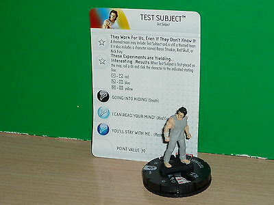 HEROCLIX MARVEL Age of Ultron - Test Subject 004