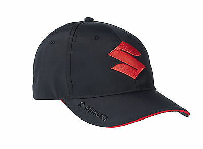 Suzuki Team Mens Womens Accessory Baseball Hat Cap Embroidered Logos Black