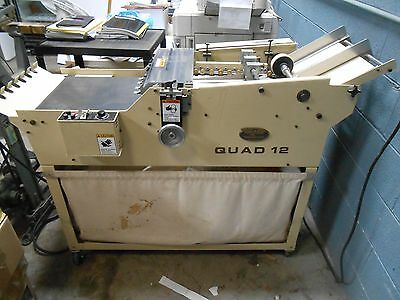 THERM-O-TYPE Qoad 12 Business Card Slitter Slitters Cutter