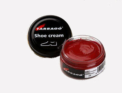 Tarrago Leather Shoe Boot Polish Cream 50 ml Jar (1.76 oz) (Colors 0 - 59)