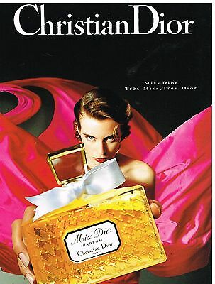 Publicité Advertising 1993 Parfum Miss Dior par Christian Dior
