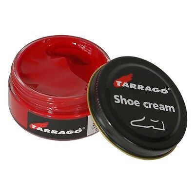 Tarrago Leather Shoe Boot Polish Cream 50 ml jar (1.76 oz) (Colors 100 - 744)